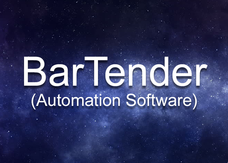Bartender Automation Software