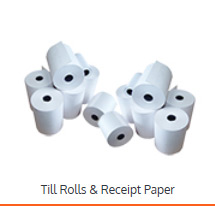 Till Roles and Receipt paper